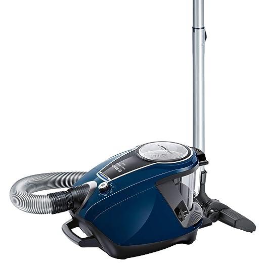 Bosch BGS7RCL Relaxxx Ultimate Aspirador sin Bolsa, Extremadamente silencioso 68 decibelios, 700 W, 3 litros, Azul