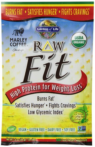 Garden of Life Fit RAW Protein Marley Coffee (10 Pkts)