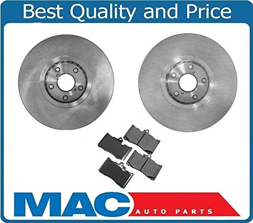 Front+Rear Drilled Slotted Brake Rotors /& Ceramic Pads For Lexus GS350 IS350