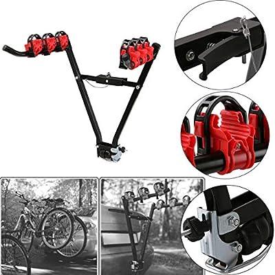 Ambienceo Portabicicletas Soporte universal para 2 bicicletas ...