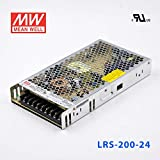 MEAN WELL LRS-200-24 Switching Power Supply 200W 24V 8.8A Constant Current