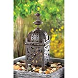 Set of 10 Metal Moroccan Style Candle Lantern-centerpiece