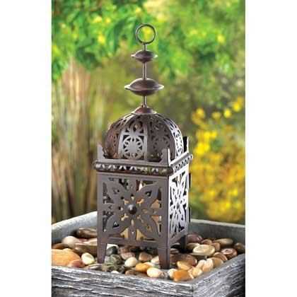 Set of 10 Metal Moroccan Style Candle Lantern-centerpiece by O'NeillGifts