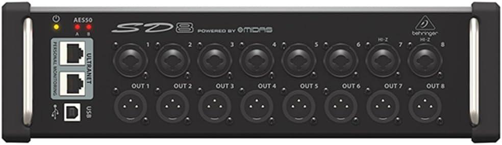 Behringer Digital Snake Sd8 - Mesa de mezclas: Amazon.es ...
