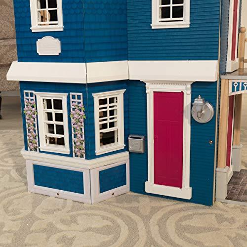 51k6u35fQTL - KidKraft So Chic Dollhouse with Furniture