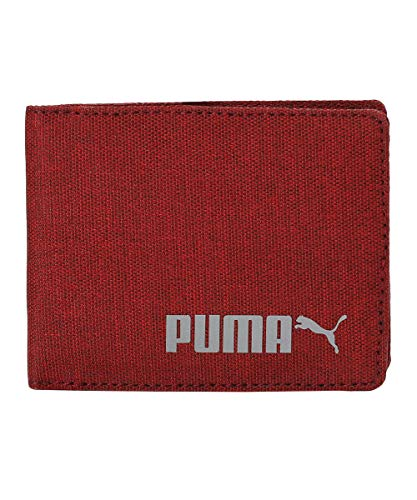 Puma Red Polyester Unisex Wallet (5404903_Red_X)