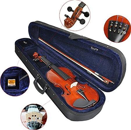 B-Ware Steinbach 3//4 Geige im SET weiß mit Blumendekor handgearbeitet