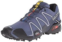 Salomon Men's Speedcross 3 Trail Running Shoe, Slate Blueblackdeep Blue, 11 D Us