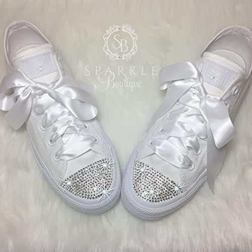 CUSTOM Wedding Shoe Bling Chucks