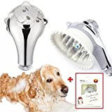 Puppy Shower head Massager Pet Perfect Wash Massage Grooming Water Saver Handheld Shower head Brush