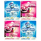 Boo Berry and Franken Berry Flavored Lip Balms (4 Pack)
