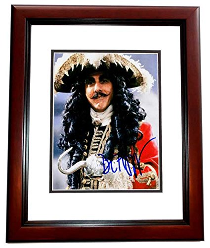 Dustin Hoffman Signed - Autographed HOOK 8x10 inch Photo MAHOGANY CUSTOM FRAME - Guaranteed to pass PSA or - Hoffman Frames