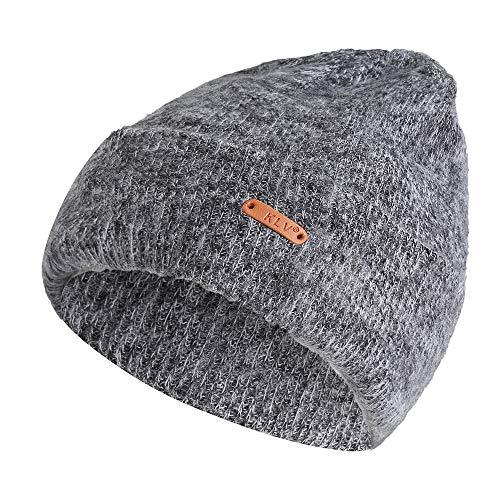 t Hat Winter Wool Knit Warm Thick Braided Beanie Skull Slouchy Ski Cap ()