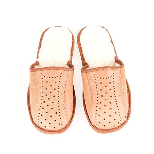 Men`s Leather Winter Warm Slippers 100% Natural Leather size:UK6,7,8,9,10,11,12 Brand New