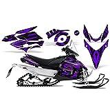 CreatorX Yamaha Phazer Rtx Gt Mtx Snowmobile Sled Graphics Kit Tribal Madness Purple