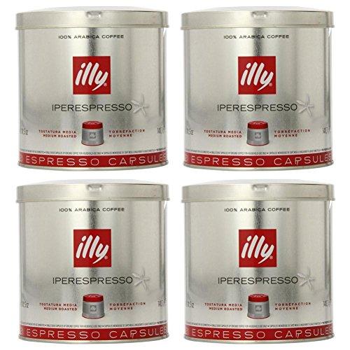 illy iperEspresso Capsules Medium Roasted Coffee, 5-Ounce, 21-Count Capsules (Pack of (21 Count Capsules)