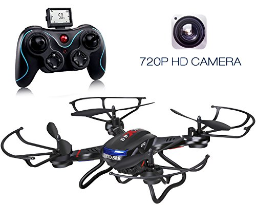 Holy Stone F181C RC Quadcopter Drone with HD Camera RTF 4 Channel 2.4GHz 6-Gyro with Altitude Hold Function,Headless Mode and One Key Return Home, Color Black by Holy Stone (Image #8)