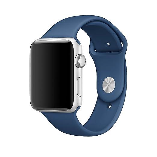 17 opinioni per XMDirect morbido Silicone Sport Band Cinturini di ricambio per Apple Watch