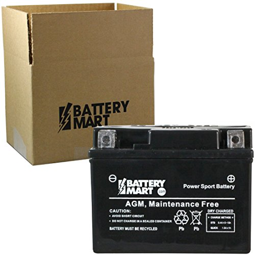 14 Bs Motorcycle Battery - 6