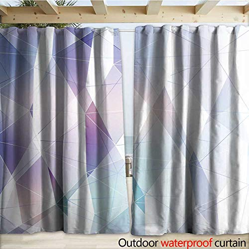 - warmfamily Indoor Outdoor Curtain Index d Outdoor Curtain W108 x L96