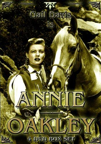 Annie Oakley (4 DVD)   (UK PAL Region - Oakley Canada