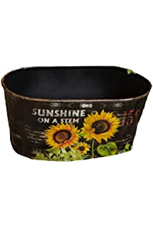 Amazon Com Your Heart S Delight Wooden Tool Box Planter With