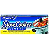 "Reynolds Metals 00504 Slow Cooker Liners 13""X21"",4 LINERS(Pack of 4)"