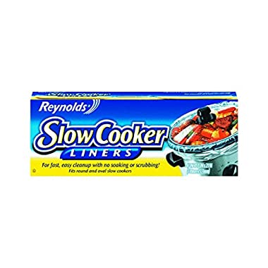 Reynolds Metals 00504 Slow Cooker Liners 13 X21 ,4 LINERS(Pack of 4)