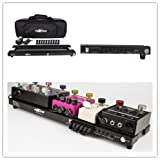 "BoxKing Rechargeable Powered Pedal Board 12800mAh PB4813 19""x 5"" with Case."