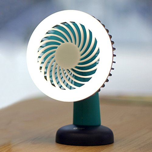 SZCHENGCI Mini Table Desk Personal Air Circulator Fan Electric Rechargeable Fans for laptop room office outdoor travel(FS-004) ()