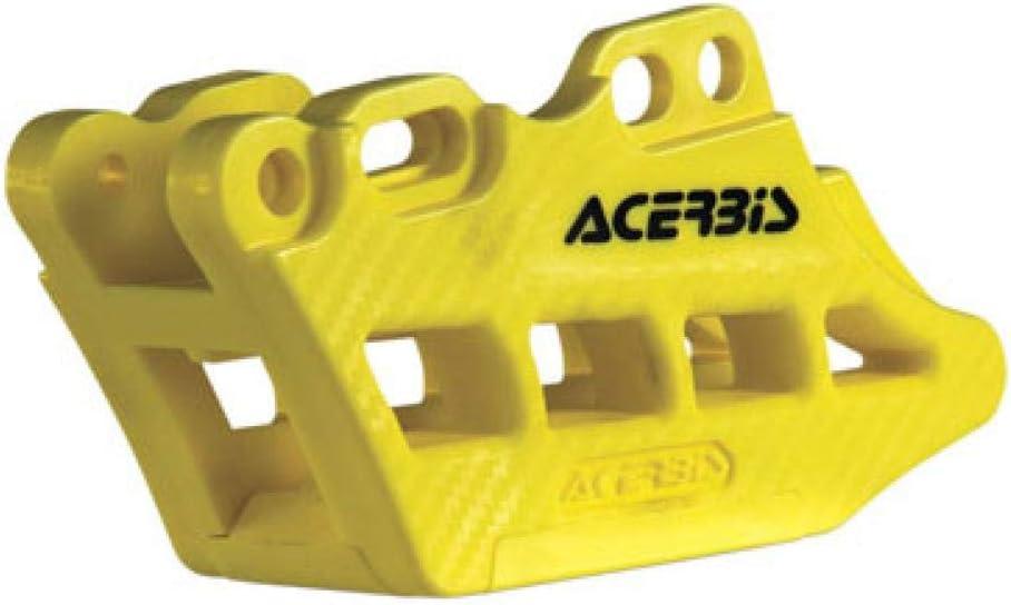Acerbis Chain Guide Block 2.0 for 05-17 Suzuki RMZ450 Yellow