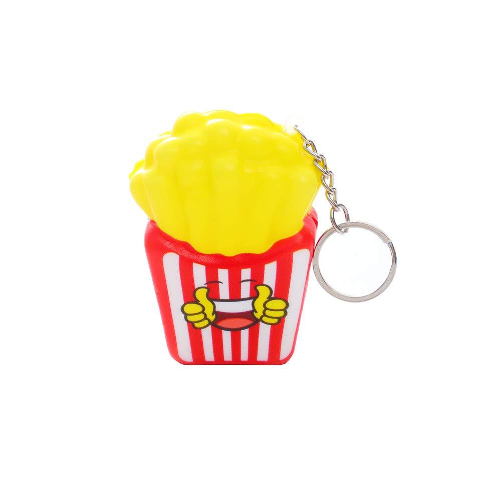 TIMEMEAN Süß Ausdruck Fritten Dekor Schleppend Kind Spielzeuge Drücken Entlasten Geschenk Ostern Süß Soft Langsam Steigend Geschenke