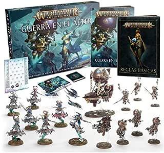 Warhammer Age of Sigmar Guerra EN EL AÉTER Castellano: Amazon.es: Juguetes y juegos