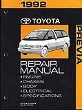 1992 Toyota Previa Repair Manual
