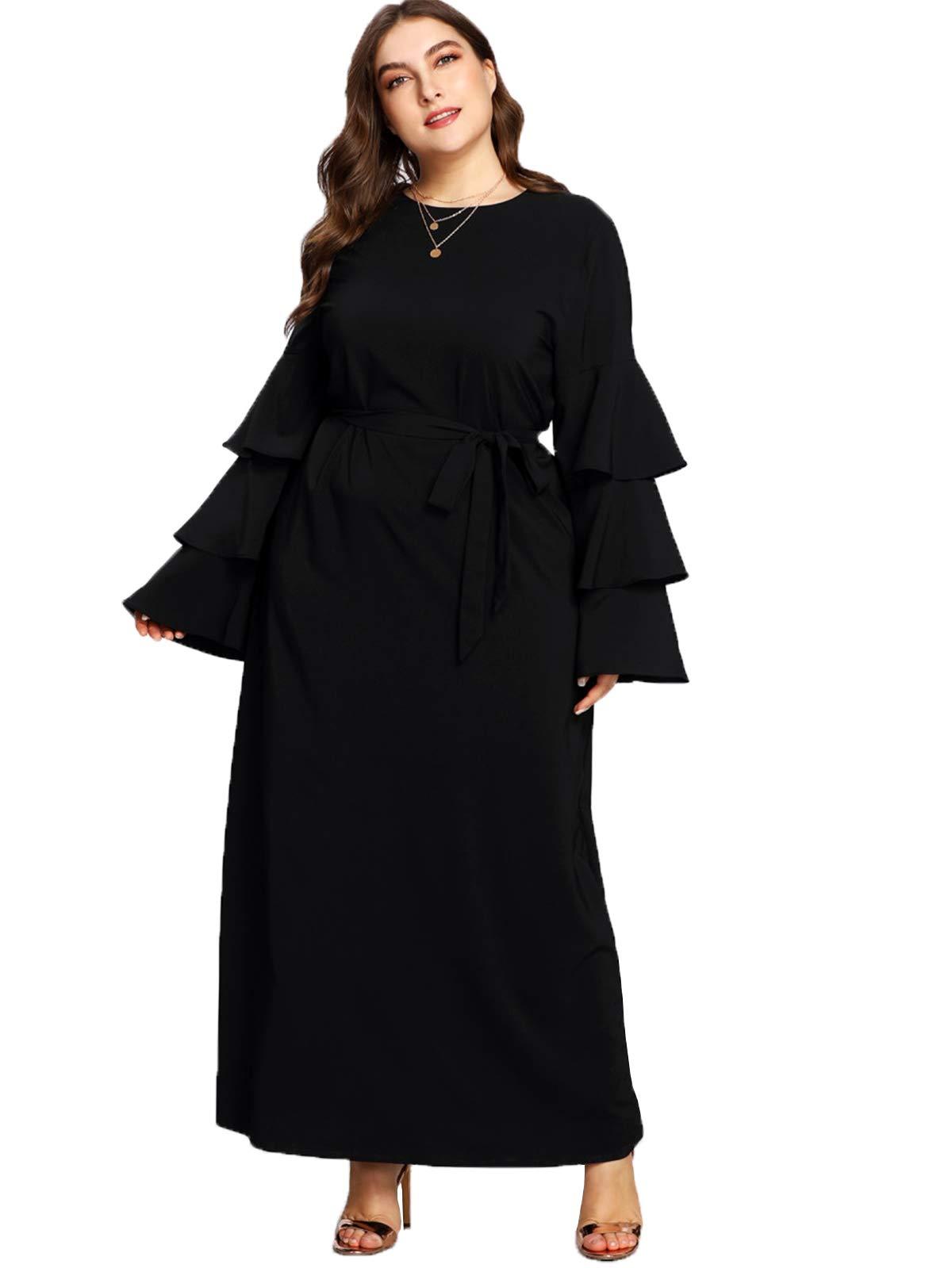 52f72c6c3f6 Plus Size Maxi Dresses In Black - Data Dynamic AG