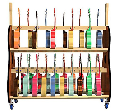 The Band Room Soprano Ukulele Classroom Storage Cart by A&S Crafted Products (Image #2)