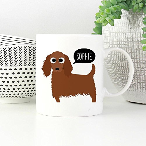 PERSONALIZED IRISH SETTER DOG MUG, Dog Funny Mugs, Dog Funny Coffee Mug, Dog Lover Coffee Mug, Christmas Gift, Gift For Dog Lover, Gift for Him, Gift For Her, Gift Idea For Friends, 11oz 15oz]()