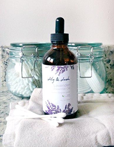 Lily Lacey Xl Lavender Essential Oil 4 Oz W Glass Dropper 100
