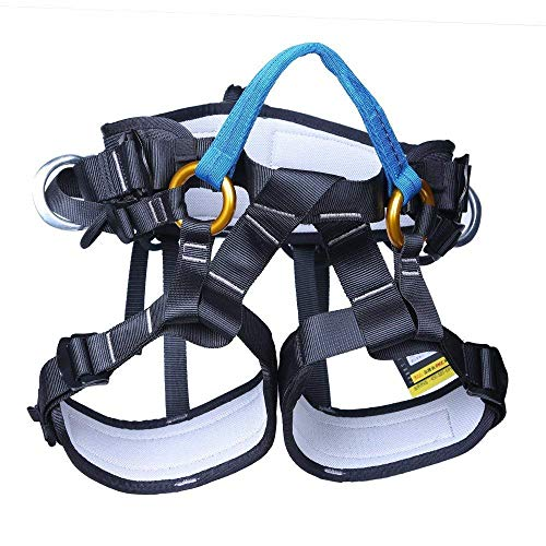 (Climbing Harness Rappelling Safety Harness Rock Climbing Tree Arborist Mountaineering Protection )