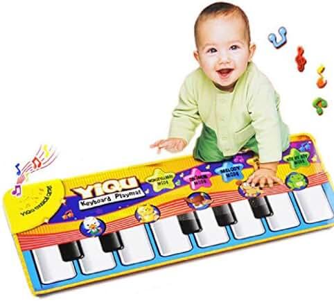 SMTSMT 2016 Touch Play Keyboard Musical Music Singing Gym Carpet Mat Kids Gift