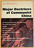 Major Doctrines of Communist China, , 0393096343