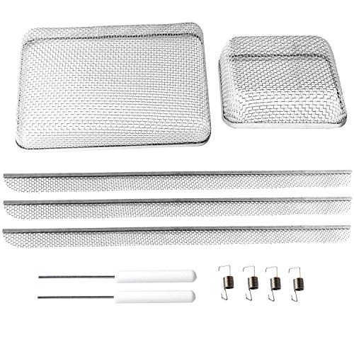 Flying Insect Screen for RV Refrigerator Vents, RV Water Heater Screen,RV Furnace Bug Screen for Camper Vents