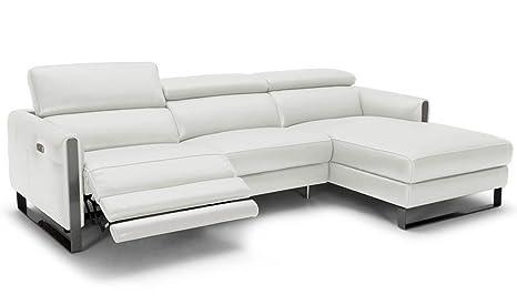 Fantastic Amazon Com Jm Furniture Vella Italian Leather Motion Right Machost Co Dining Chair Design Ideas Machostcouk