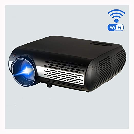 Link Co Mini proyector DLP Proyector portátil 1080p Altavoces ...