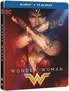 Wonder Woman 3D + 2D Steelbook Blu Ray