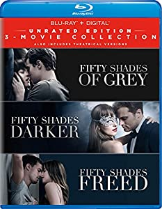 Cover Image for 'Fifty Shades: 3-Movie Collection [Blu-ray + Digital]'