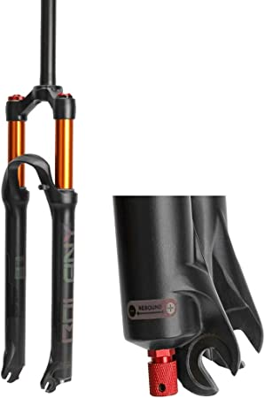 Horquilla de suspensión neumática para Bicicleta 26 27.5 29 En MTB Recto 1-1/8
