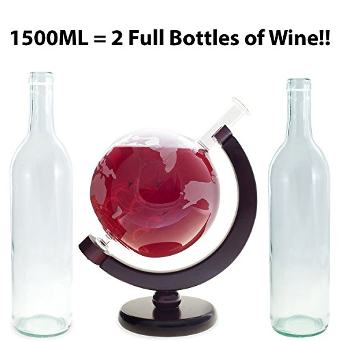 1500ML-Extra-Large-Globe-Decanter-Etched-Glass-Scotch-Decanter-with-Ship-and-FREE-Engraved-Wood-Box-Set-of-9-Granite-Whisky-Stones-for-Bourbon-Brandy-Whiskey-Wine-or-Other-Liquors-Lead-Free