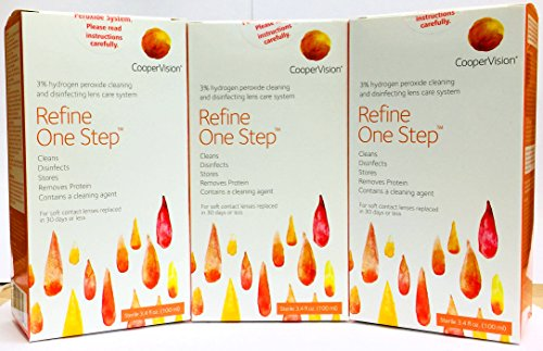 Refine One Step 3.4 fl oz (Pack of 3) (Coopervision Lenses)