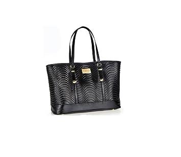 Versace Parfums Schwarz Tasche: : Koffer, Rucksäcke